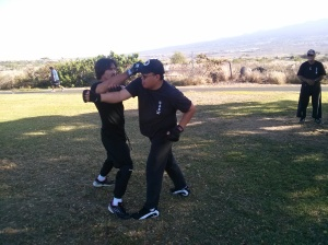 John Fusco, and Eugene Tagawa Sifu , Pacific Wing Chun Association