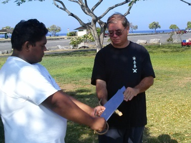 Hawaii Wing Chun Seminar with Sifu John Divirgillio, of the Hawaii Wing Chun Association in Feburary.